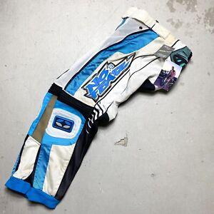 NWT NOS 1999 No Fear Vented Elektron Motocross Pants 28 - mcgrath axo fox