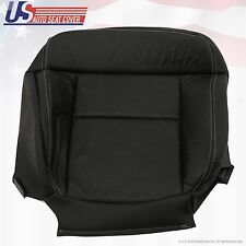 2004 to 08 Ford F-150 FX4 XLT Driver Bottom Leather Seat Cover Black perforated