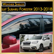 Weather shields Window Visor Weathershield tinted suit Subaru Forester 2013-2018