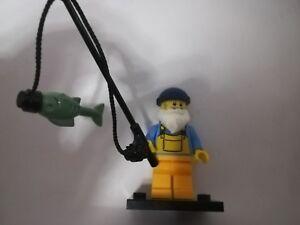 Minifigure Lego serie 3 Le Pêcheur - Set 8803