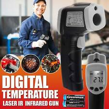 Handheld Digital Laser Thermometer Temperature Non-Contact IR Infrared Gun UK