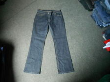 "Marks & Spencer Bootcut Jeans Size 10 Leg 27"" Faded Dark Blue Ladies Jeans"