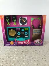 """My Life As DJ Play Set for 18"""" Doll 11-Pieces with Sounds and Music--New in Box"""