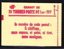 FRANCE CARNET 1972-C3 ** MNH carnet fermé, conf. N° 6, TB, cote: 48 € (L2)