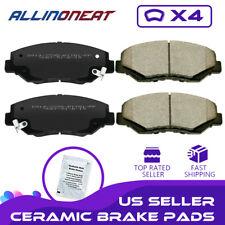 Premium Ceramic Disc Brake Pad FRONT Set Fits 2009-2017 Honda Fit CR-Z KFE1394