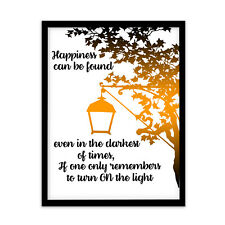 FP1523 Harry Potter Hogwarts Quote Merchandise Wizard A4 Print Gift