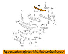 GM OEM Front Bumper-Center Bracket 22742861