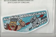 Lodge 804 Agaming Maangogwan S-5 2014 Clash of Conclave OA flap