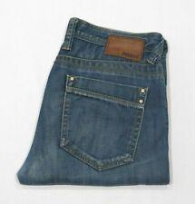 Mavi Mens Denim Jeans Regular Straight Leg Blue Faded 'Hunter' Size W 31 L 32