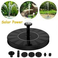 Solar Fountain Solar Water Pump Outdoor Floating Fountain Garden Decoration
