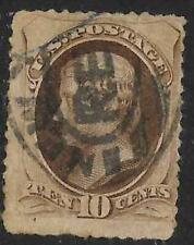 xsa117 Scott 209 US Stamp 1882 10c Jefferson Used