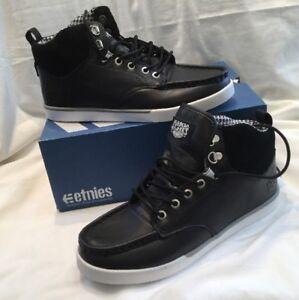 Genuine Etnies Makia Waysayer Men's Boys Black White Skate Shoes UK Size 6 BNIB