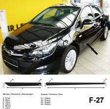 Seitenschutzleisten schwarz für Opel Astra J Stufenheck Baujahre 2010-2015
