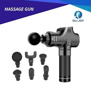 Muscle Massage Gun Deep Tissue Massager Therapy Percussion Fitness Exercising