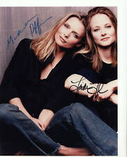 MICHELLE PFEIFFER ~ JODY FOSTER - AA  AWARDS HAND SIGNED AUTOGRAPHED PHOTO W/COA
