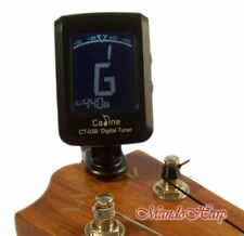 Clip-On Tuner with Ukulele/Chromatic/Guitar/Bass/Violin Modes - Caline CT-03B