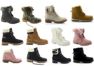 Damen Winter Boots Damenschuhe warm gefütterte Stiefel Trekking Riesenauswahl