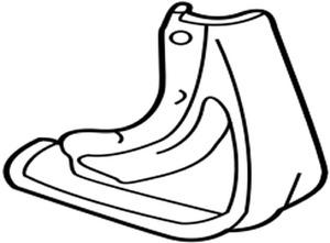 76625-48020-J0 Toyota Mudguard sub-assy, quarter panel, rear rh 7662548020J0, Ne