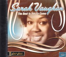 Sarah Vaughan + CD + The Best Is Yet To Come + JAZZ Album mit 11 starken Hits +