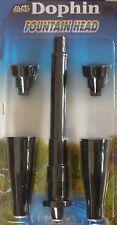 Sollozos-set dophin - 5001 4 xspringbrunnenaufsätze, fontänenaufzatz, Fountain Head