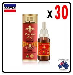 30 x Costar Eucalyptus Propolis Drop Liquid 30 ml