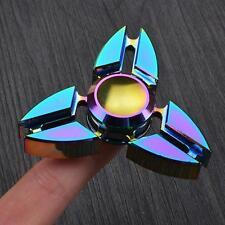 Finger Hand Spinner Fidget  Focus Ultimate Aluminum Alloy  Stress Toy Rainbow UK