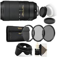 Nikon AF-P DX NIKKOR 70-300mm f/4.5-6.3G ED VR Lens with Top Accessories