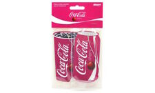 ** AIRPURE COCA COLA CHERRY COKE 2 PACK SCENTED CAR AIR FRESHNERS NEW **