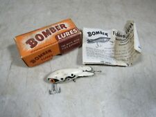 Vintage Bomber Bait Co Wooden Fishing Lure W/Box & Insert 217 Texas USA