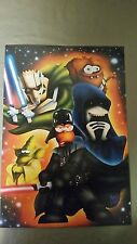 the simpsons poster homer star wars