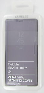 Original Samsung Galaxy Note 9 Clear View Standing Cover Schutzhülle Pink OVP