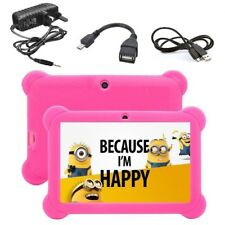 """7"""" INCH KIDS ANDROID 4.4 TABLET PC QUAD CORE WIFI Camera CHILDREN CHILD GIFT UK"""