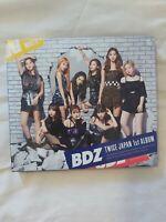 [LIMITED VER. B] TWICE BDZ CD + DVD + Mini Photobook + Photocard