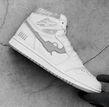Fugazi One In The Chamber Air Jordan 1 White/Grey Size 11 **ORDER CONFIRMED**
