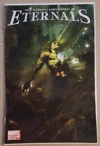 Eternals #1-7- 2006 Neil Gaiman & John Romita JR Marvel Comics US