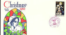 CHRISTMAS - 1842 -  GAMM FDC - 1980