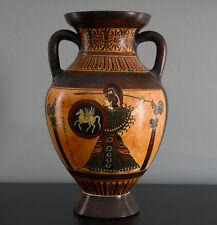 Athena and Olympic Athletes Panathenaic Amphora Vase Greek Replica Reproduction