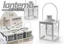 LANTERNA ALBERO DELLA VITA H14 CM METALLO PORTACANDELA SEGNAPOSTO ACA 732775