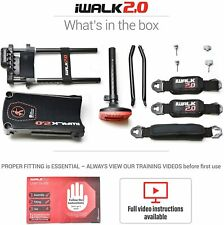 iWALK2.0 Hands Free Knee Crutch - Alternative for Crutches and Knee Scooters