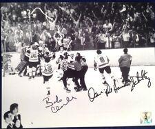 Philadelphia Flyers Dave The Hammer Schultz / Bob Clarke Stanley Cup Celebration