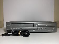Magnavox MWD2205 VCR DVD Combo with Antenna - Working - Free Shipping