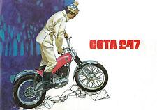 MONTESA Poster Cota 247 Classic Trials Suitable to Frame