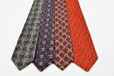 4 pcs. Ties Valentino Silk Ties Made in Italy