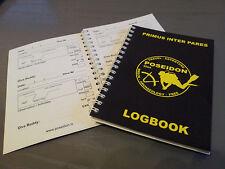 Scuba Diving Diver`s  Log Book - Dive Club POSEIDON (100 dives!!! )