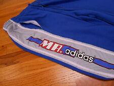 VTG RARE HTF MR. ADIDAS JIM MCMAHON 80s 90s SWEATS SWEATPANTS BLUE HIP HOP L