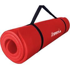 ScSPORTS® Gymnastikmatte Yogamatte Fitnessmatte Turnmatte 190 x 60 x 1,5 cm rot