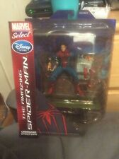 🔥Marvel Select The Amazing Spiderman Unmasked Spiderman Disney Store Figure r