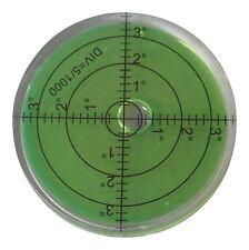 Niveau à Bulle Large en Acrylique (liquide vert) 66mm, Niveau de Surface