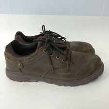 Merrell Shoes Lace Up Men Size 10.5 Brown Leather Upper