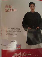 Stylist Wear Cape Jacket Coat WHITE Up to Size 8 Petite Big Shirt Estheticians
